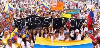 venezuela, resistência