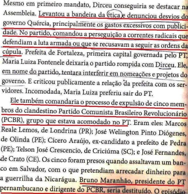 Dirceu, a biografia, DIRCEU PREGA ÉTICA E PERSEGUE, fl. 126 001
