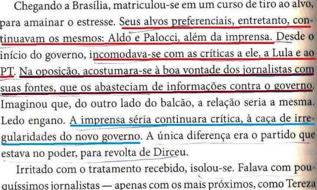 DIRCEU, A BIOGRAFIA, fl. 216, ALDO, PALOCCI, a IMPRENSA...