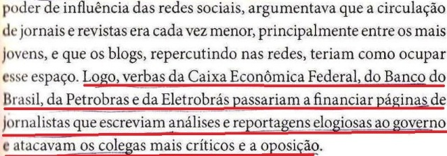 Dirceu, a biografia, fl. 217, verbas da CEF, BB, PETROBRÁS, ELETROBRÁS...