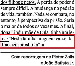 LULA EM CARUAARU, O OCASO 18, D. ZILU., Veja, 20jul16