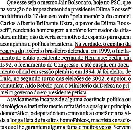 QUEM CRIOU BOLSONARO 3,Veja, 11MAIO16