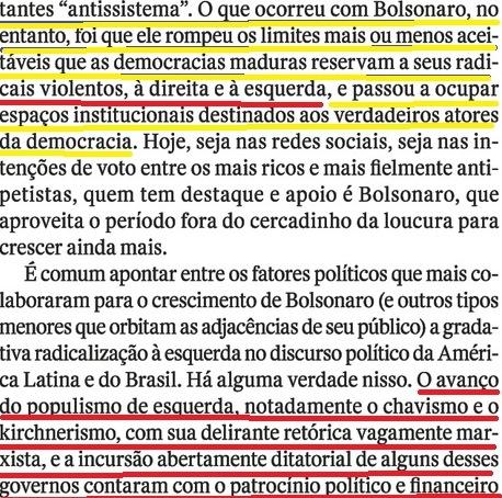 QUEM CRIOU BOLSONARO 4, POPULISMO, PT,Veja, 11MAIO16