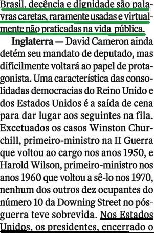 VIRTUDES E DESVIRTUDES 4, Roberto Pompeu de Toledo, Veja, 20jul16